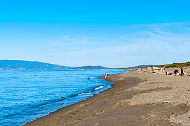 Capalbio beach, province of Grosseto, Tuscany, Italy