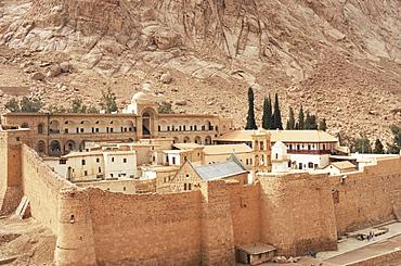 St. Catherine's monastery, UNESCO World Heritage Site, Sinai, Egypt, North Africa, Africa