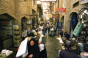 The bazaar, Baghdad, Iraq, Middle East