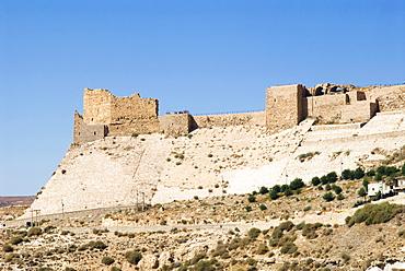 The Crusader Fort, Kerak, Jordan, Middle East
