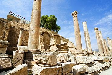 Propilaeum, Jerash (Gerasa) a Roman Decapolis city, Jordan, Middle East