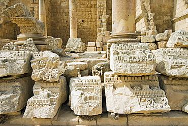 The Propylaeum, Jerash (Gerasa), a Roman Decapolis city, Jordan, Middle East
