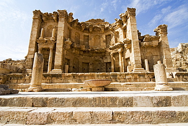 The Nymphaeum, Jerash (Gerasa), a Roman Decapolis City, Jordan, Middle East