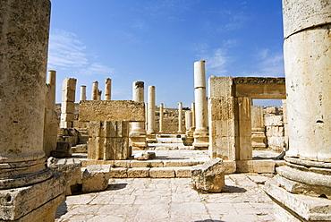 The Macellum, Jerash (Gerasa), a Roman Decapolis City, Jordan, Middle East