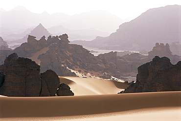 Akakus, Southwest Desert, Libya, North Africa, Africa