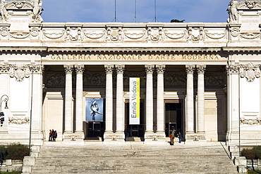 Exterior of the Museum of Modern Art, Rome, Lazio, Italy, Europe
