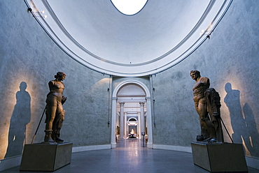 Roman statues, National Gallery, Parma, Emilia Romagna, Italy, Europe