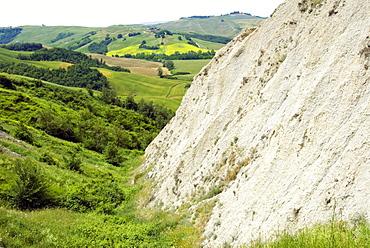 Crete Senesi area, near Asciano, Siena Province, Siena, Tuscany, Italy, Europe
