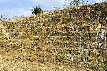 Etruscan tuff quarry, Tuscania, Viterbo, Latium, Lazio, Italy, Europe