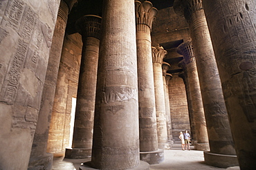 Interior, Temple of Esna, Egypt, North African, Africa