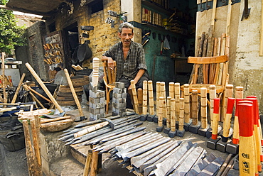 Carpentry Shop, City of The Deads area, Cairo, Egypt, North Africa, Africa