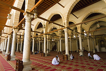 Ibn El As Mosque, Cairo, Egypt, North Africa, Africa