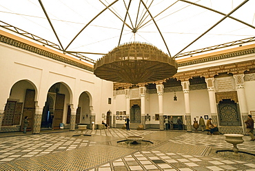 Marrakech Museum, Marrakech (Marrakesh), Morocco, North Africa, Africa