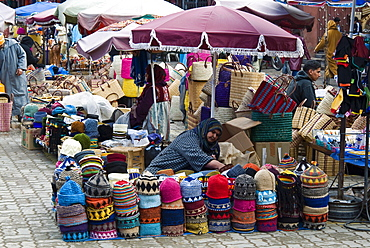 The Souk, Marrakech (Marrakesh), Morocco, North Africa, Africa