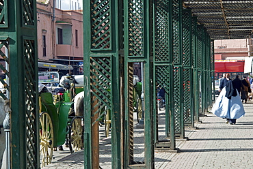 The Mellah, Marrakech (Marrakesh), Morocco, North Africa, Africa