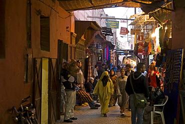 The Mellah (Jewish quarter), Marrakech (Marrakesh), Morocco, North Africa, Africa