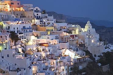 Fira, Santorini (Thira), Cyclades Islands, Greek Islands, Greece, Europe
