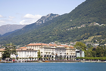 Lugano, Lake Lugano, Tessin (Ticino) Canton, Switzerland, Europe