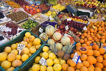 Fruit for sale, Padova, Veneto, Italy, Europe