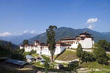 Trongsa Dzong, Trongsa, Bhutan, Asia