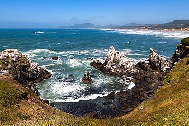 Yaquina Head Nature Reserve near Newport on the Pacific Northwest coast, Oregon, United States of America, North America