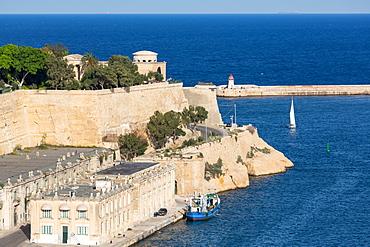 The Grand Harbour in Valletta, European Capital of Culture 2018, Valletta, Malta, Mediterranean, Europe