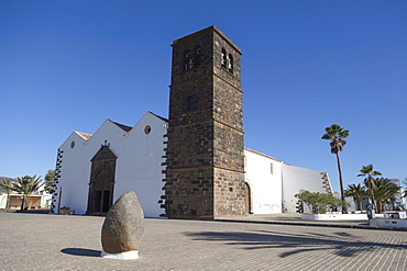 Church of Our Lady of Candelaria in La Oliva on the volcanic island of Fuerteventura, Canary Islands, Spain, Atlantic, Europe