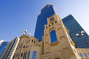 Buildings in the West Bay financial and business district, Doha, Qatar, Middle East