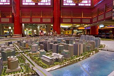 New developments model for Dubai, China Court, Ibn Battuta Shopping Mall, Dubai, United Arab Emirates, Middle East