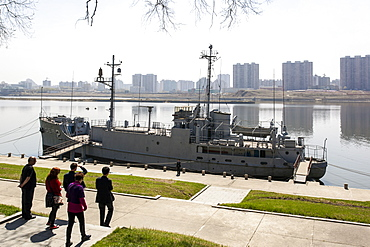 Pueblo, the American Spy Ship captured by the North Koreans in the 1960s, Pyongyang, Democratic People's Republic of Korea (DPRK), North Korea, Asia