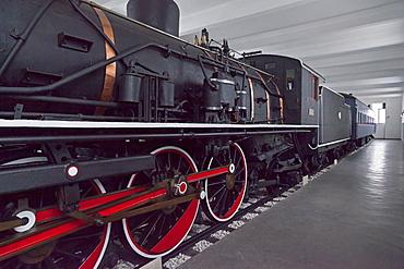 Stalin's train, a gift to Kim Il Sung, Wonsan City, East Sea of Korea, Democratic People's Republic of Korea (DPRK), North Korea, Asia