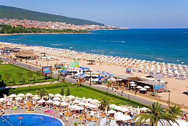 Slanchev Bryag (Sunny Beach), between Varna and Burgas, Black Sea Coast, Bulgaria, Europe