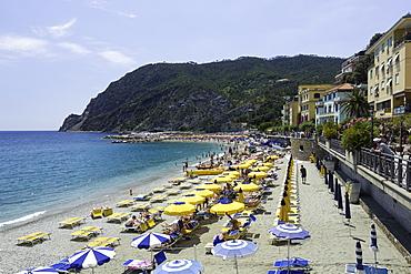 Monterosso al Mare, Cinque Terre, UNESCO World Heritage Site, Liguria, Italy, Europe