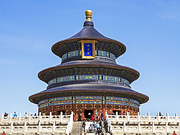 Hall of Prayer for Good Harvests, Temple of Heaven (Tian Tan), UNESCO World Heritage Site, Beijing, China, Asia