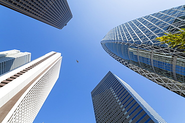 Skyscrapers in Shinjuku district, Tokyo, Japan, Asia