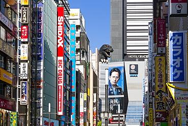 Kabukicho entertainment district, Shinjuku, Tokyo, Japan, Asia