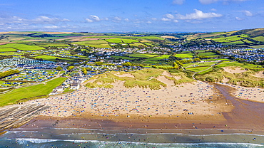 Croyde beach, Croyde, North Devon, England, United Kingdom, Europe