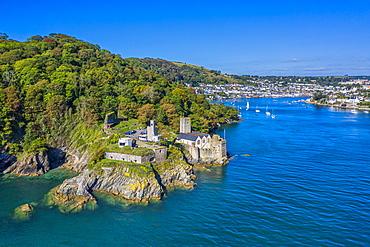 Dartmouth Castle guarding the entrance to the River Dart, Dartmouth, Devon, England, United Kingdom, Europe