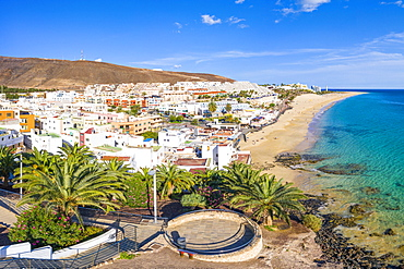 Jandia Peninsula, Morro Jable and Playa del Matorral, Fuerteventura, Canary Islands, Spain, Atlantic, Europe - 794-4808