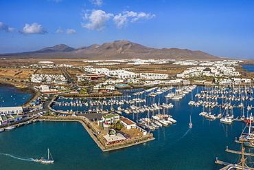 Marina Rubicon, Playa Blanca, Lanzarote, Canary Islands, Spain, Atlantic, Europe