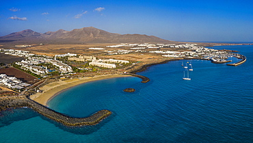 Marina Rubicon, Playa Blanca, Lanzarote, Canary Islands, Spain, Atlantic, Europe
