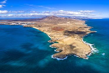 Playa del Papagayo near Playa Blanca, Lanzarote, Canary Islands, Spain, Atlantic, Europe