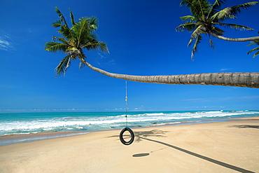 Beach near Galle, Sri Lanka, Asia