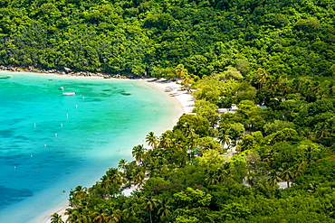 Magens Bay on Saint Thomas, US Virgin Islands