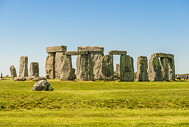 Stonehenge Neolithic monument, UNESCO World Heritage Site, Salisbury Plain, Salisbury, Wiltshire, England, United Kingdom, Europe