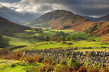Beautiful lakeland countryside in Martindale, Lake District National Park, UNESCO World Heritage Site, Cumbria, England, United Kingdom, Europe