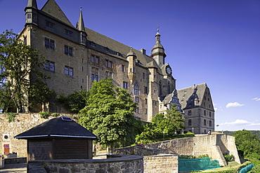 Landgrafenschloss (Marburg Castle), Marburg, Hesse, Germany, Europe