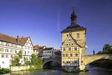Altes Rathaus (Old Town Hall), Bamberg, UNESCO World Heritage Site, Bavaria, Germany, Europe