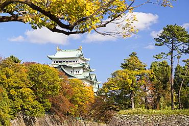 Nagoya Castle, Nagoya, Honshu, Japan, Asia