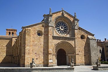 Church of San Pedro, Avila, UNESCO World Heritage Site, Castile and Leon, Spain, Europe